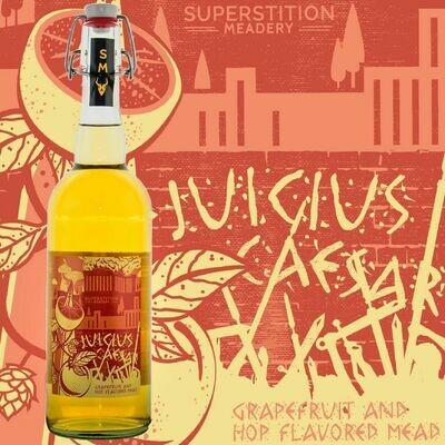 Superstition Meadery Juicius Caesar Mead With Grapefruit Zest, Amarillo & Cascade Hops (SINGLE)