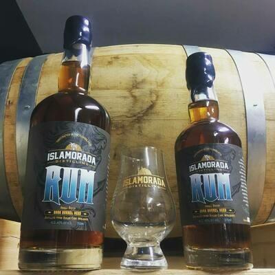 Islamorada Distilling Dark Barrel Aged Rum   (SINGLE)