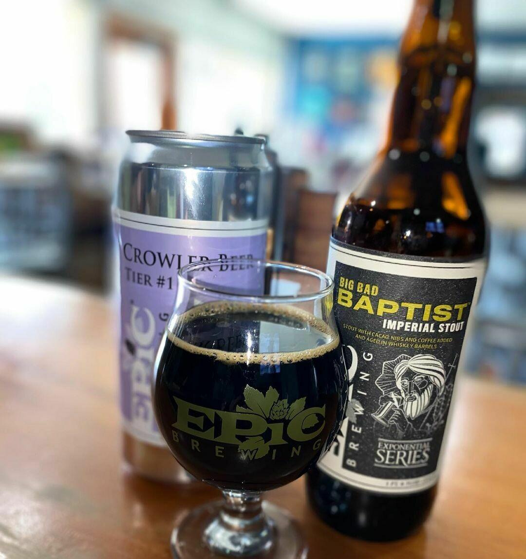 Epic Brewing Badder Baptista 2020 (SINGLE)