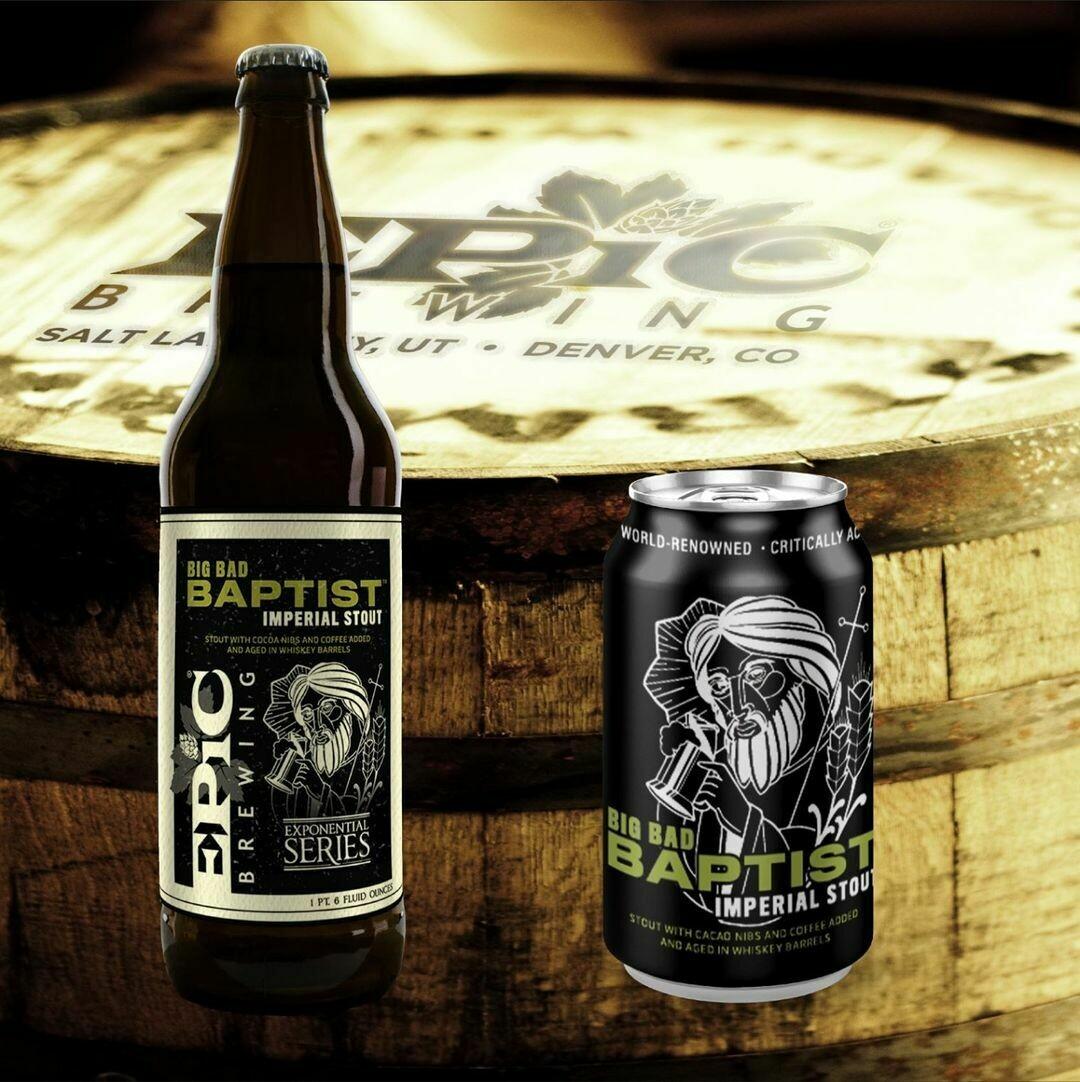 Epic Brewing Big Bad Baptist 2020 Release (SINGLE)