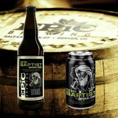 Epic Brewing Big Bad Baptist 2019 Release (SINGLE)
