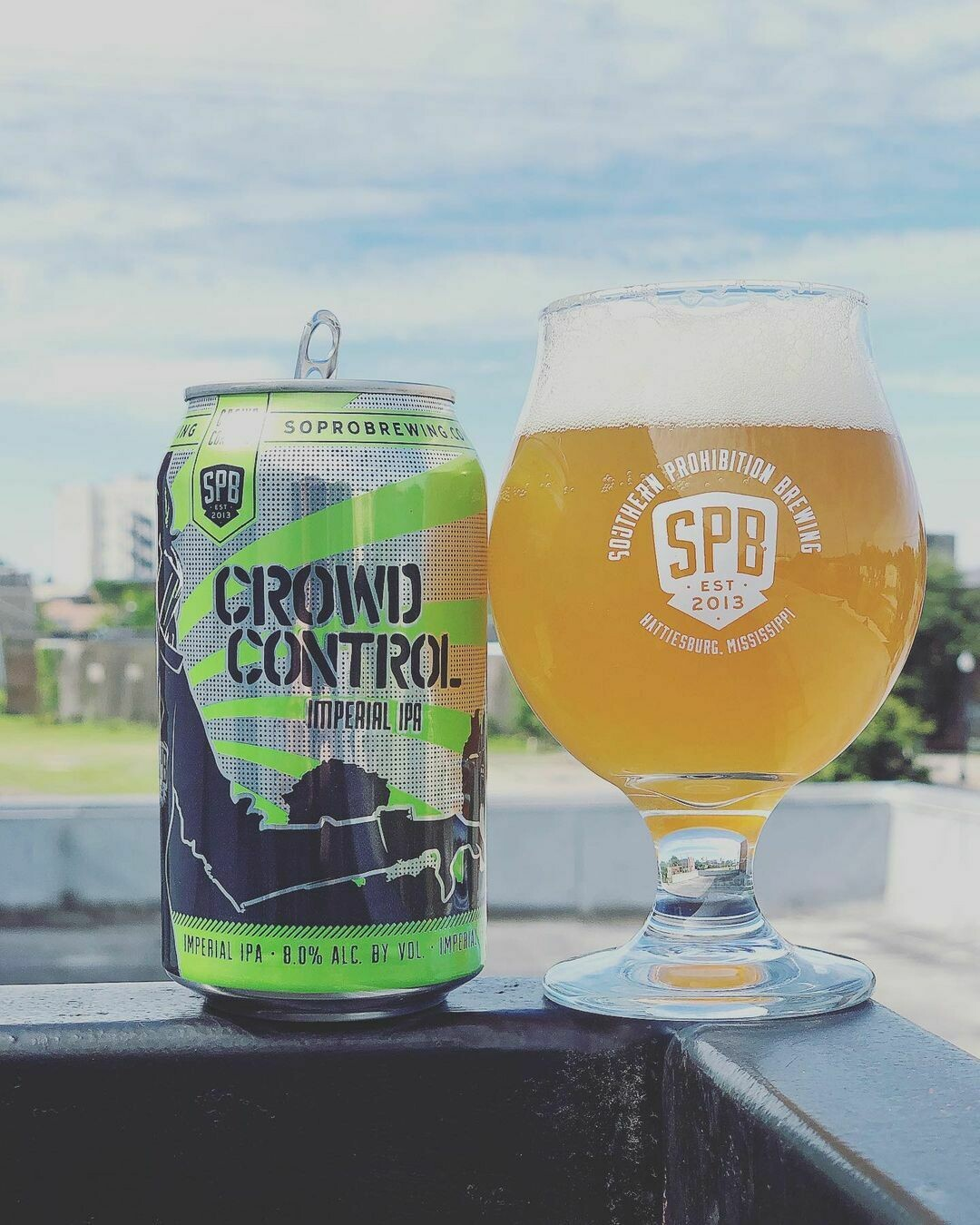 Southern Prohibition Crowd Control Imperial IPA  (4-PACK)
