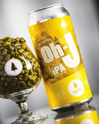 Lone Pine Brewing El Dorado DDH Oh-J DIPA (4-PACK)