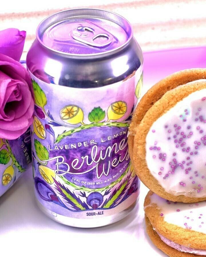 DC Brau Lavender Lemonade Berliner Weisse (4 PACK)