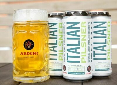Ardent Craft Ales Italian Pilsner (4 PACK)