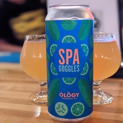 Ology Brewing Co SPA Googles Cucumber Lime Gose (4-PACK)