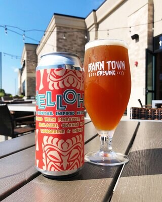 Barn Town Brewing Helloha Tiki Cocktail Pastry Sour (4-PACK)