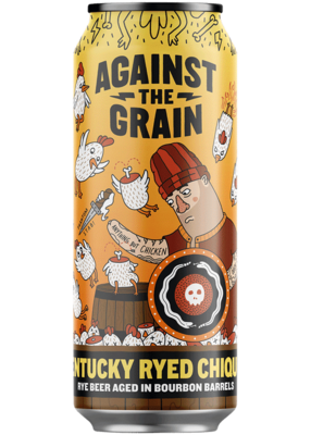 Against The Grain Kentucky Ryed Chiquen BBA Rye Amber ALE (4-PACK)