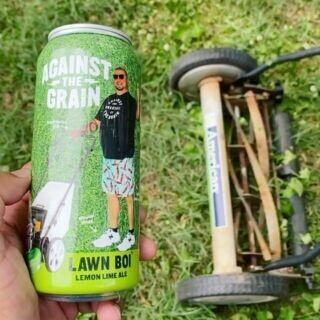 Against The Grain Lawn Boi Lemon Lime Light ALE (4-PACk)
