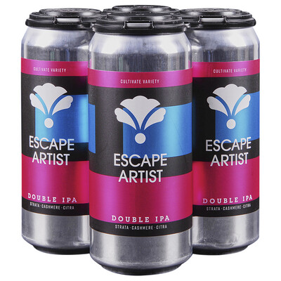 Bearded Iris Escape Artist DIPA (4-PACK)