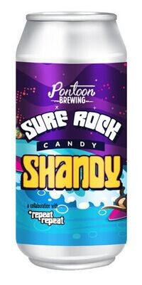 Pontoon Brewing Surf Rock Candy Shandy (4-PACK)