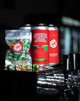 Ology Brewing Co Strawberry Watermelon Slushhh (4-PACK)