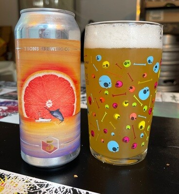 3 Sons Brewing Grapefruit Witlantic (4-PACK)