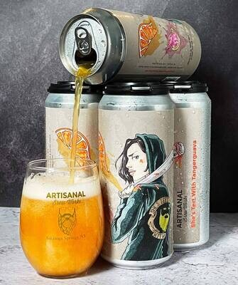 Artisanal Brew Works She's Tert Sour ALE with Tangerine, Guava (4-PACK)