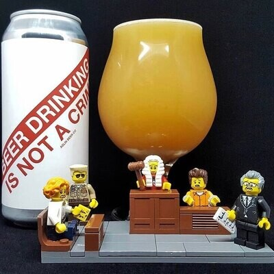 Aslin Beer Co Beer Drinking is not a Crime DIPA (4-PACK)