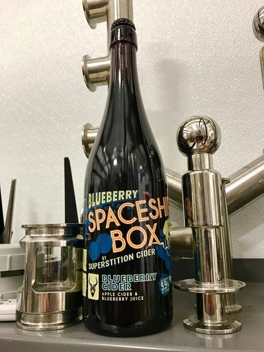 Superstition Meadery Blueberry Spaceship Box (Single)