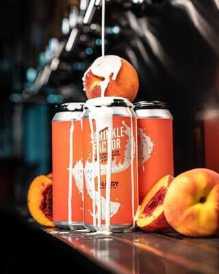 Ology Brewing Co Peach Vanilla Sprinkle Factor IPA (4-PACK)