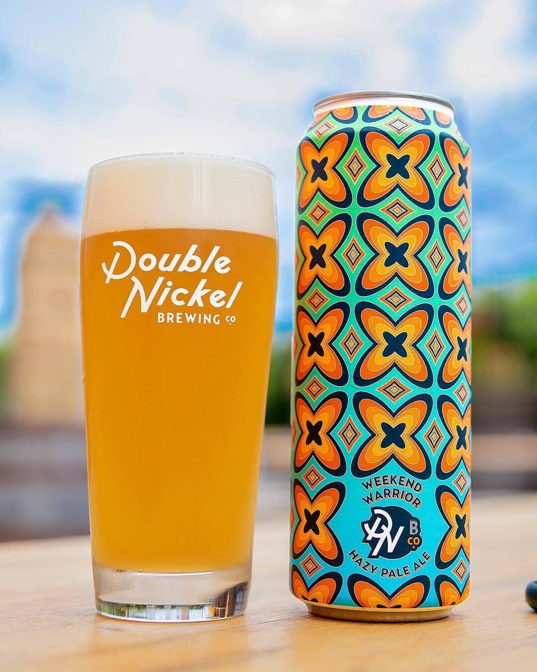 Double Nickel Brewing Weekend Warrior Hazy Pale Ale (4-PACK)