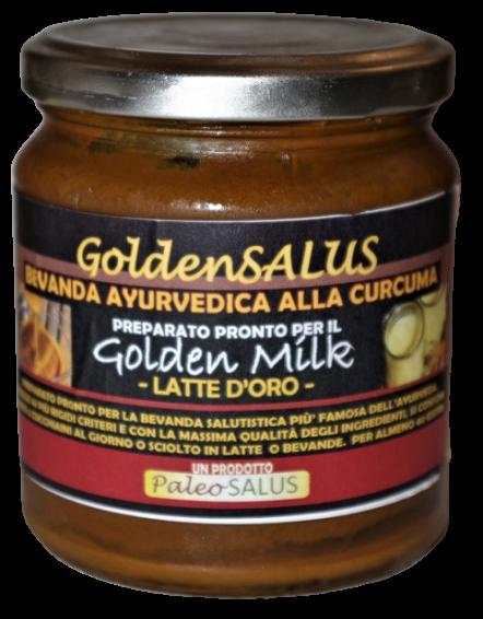 "SCORTA GOLDENSALUS ""GoldenMilk/Latte D'Oro"" 5 Vasi da 320 gr."