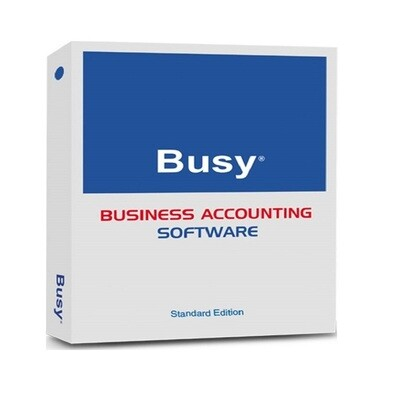 Busy Accounting Software (Standard Single User)