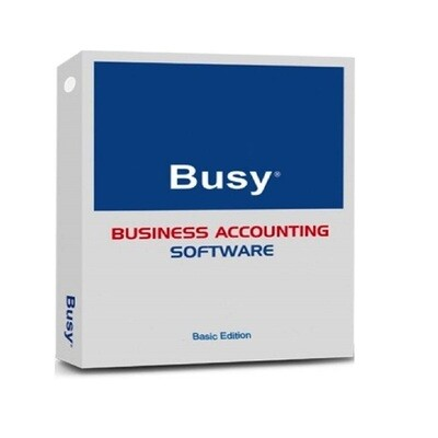 Busy Accounting Software (Basic Edition Dual User)