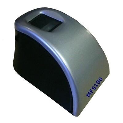 Mantra MFS100 USB Fingerprint Scanner Registered