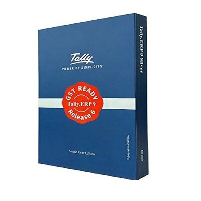 Tally ERP 9 Silver Edition Single User Software