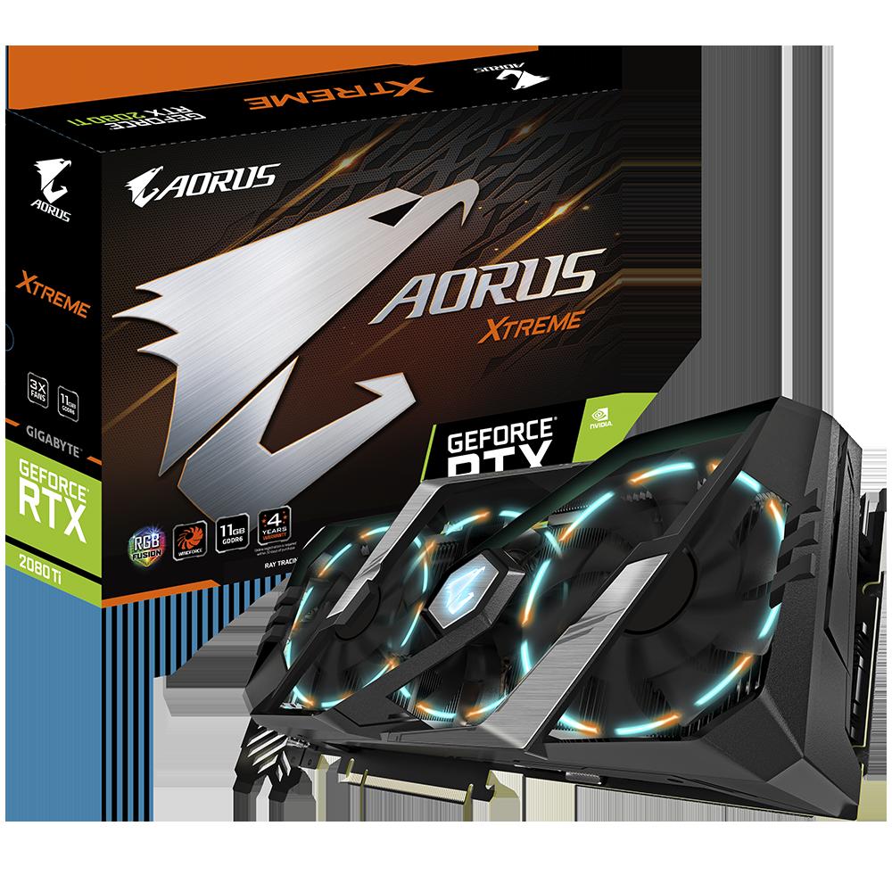 Gigabyte AORUS GeForce RTX™ 2080 Ti XTREME 11G