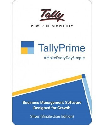 Tally Prime Edition Single User Software