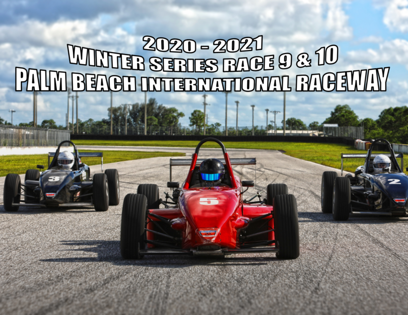 Palm Beach International Raceway - Winter Series Practice and Race Day - Race 9 & 10 - R/T 2000 South Fleet - February 5-6, 2021
