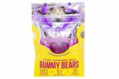 (150mg THC) Organic Gummy Bears By Mota (Vegan/Gluten Free)