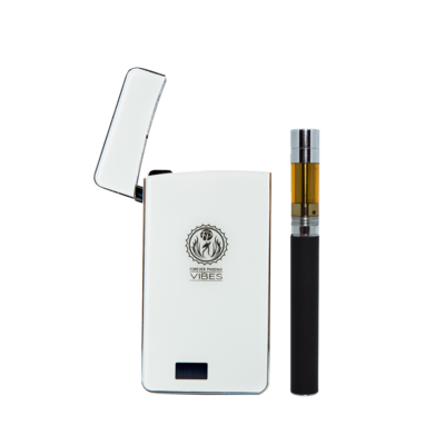 Vibes Rechargeable Vaporizer (White) by Forever Phoenix