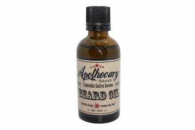 Hemp Infused Beard Oil By Apothecary (Discontinued Available While Supplies last)