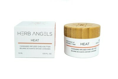 Heat RSO Warming Shea Butter Topical By Herb Angels