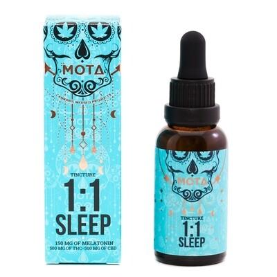 (500mg THC&500mg CBD) Sleep Tincture By Mota
