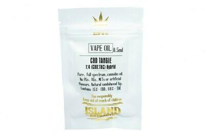 CBD Tangie 1:4 (Hybrid) Vape Top by Island Extracts