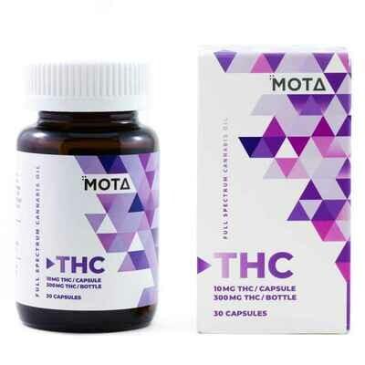 (10mg THC) Capsules By Mota
