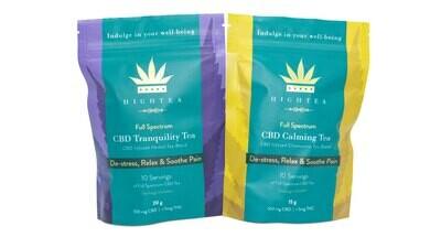 (100mg CBD) Tea by High Tea