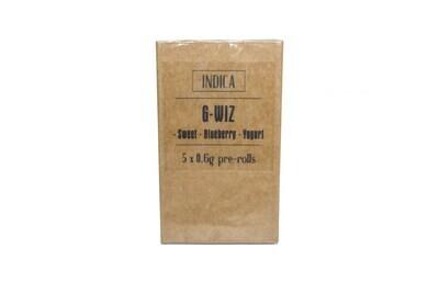 G-Wiz (Indica) Premium Preroll (5/Pack)