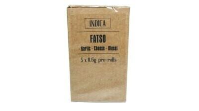 Fatso (Indica) Premium Preroll (5/Pack)