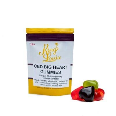 (150mg CBD) Big Heart Gummies By King Louis