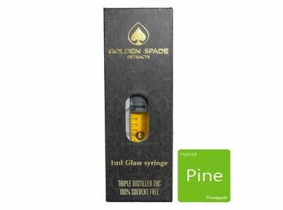 Pineapple (Full Spectrum) (Hybrid) 1ml Syringe by Golden Spade Extracts