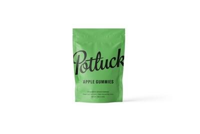 (200mg THC/CBD) C02 Full Spectrum Apple Gummies By Potluck