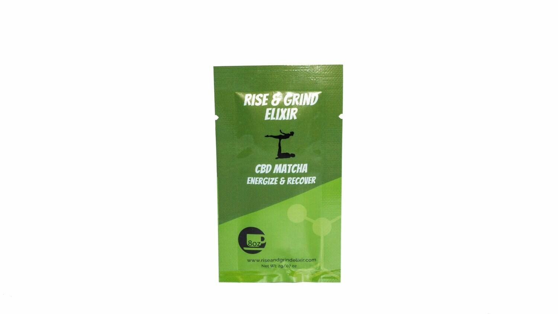 Matcha & Monk Fruit CBD Elixir by Rise & Grind