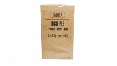Dosi Pie (Indica) Premium Preroll (5/Pack)