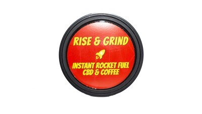 Instant Rocket Fuel CBD & COFEE By Rise & Grind