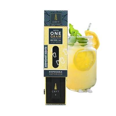 (1ml) Super Lemonade (Sativa) Disposable Vape By Crft Cannabis