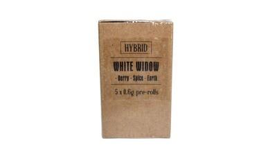 White Widow (Hybrid) Premium Preroll (5/Pack)