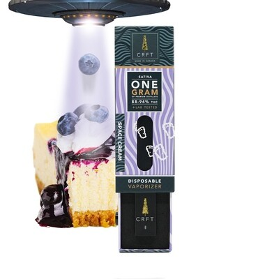 (1ml) Space Cream (Sativa) Disposable Vape By Crft Cannabis