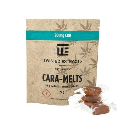 Cara-Melts CBD (80mg) by Twisted Extracts